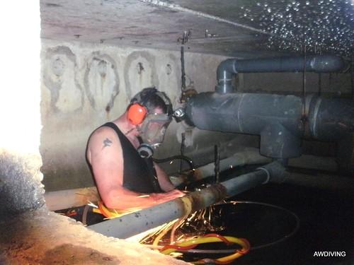 Veilig werken in bufferkelder