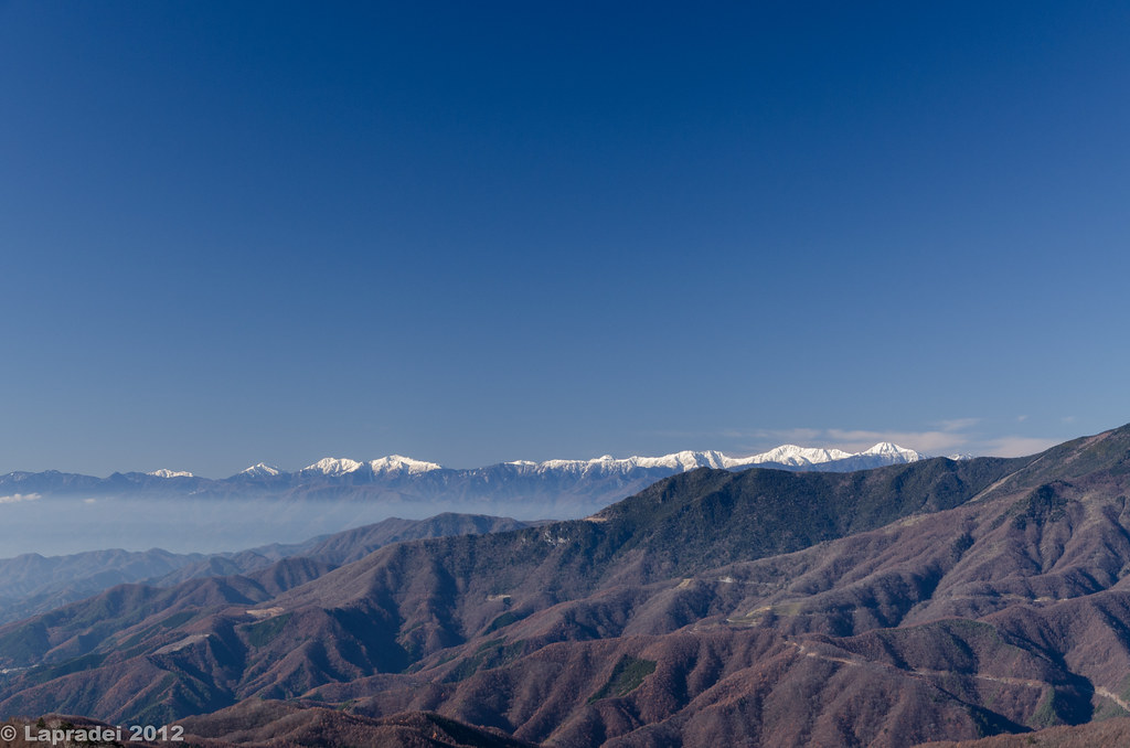 20121125 南アルプス