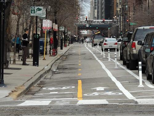 Dearborn Bike Lane