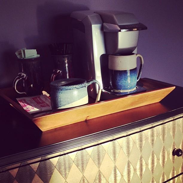 Coffee Maker In Master Bedroom : Coffee bar in master bedroom #lakelife Flickr - Photo Sharing!