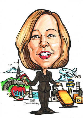 Caricature for P&G 13062012