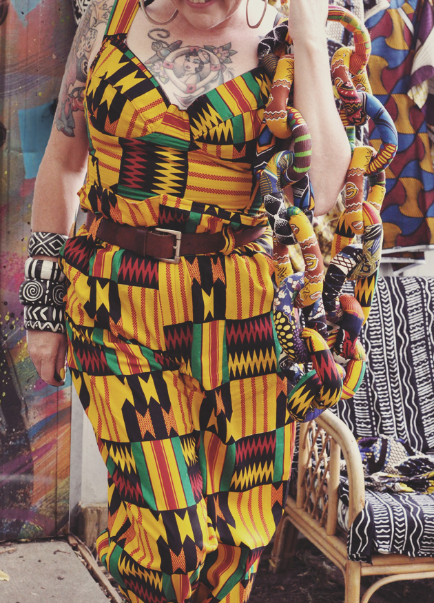 Kazzthespazz.com | Wrapped in Kente
