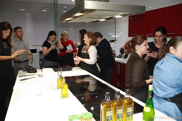 Tapas&Blogs en la Escuela de cocina Dismuco