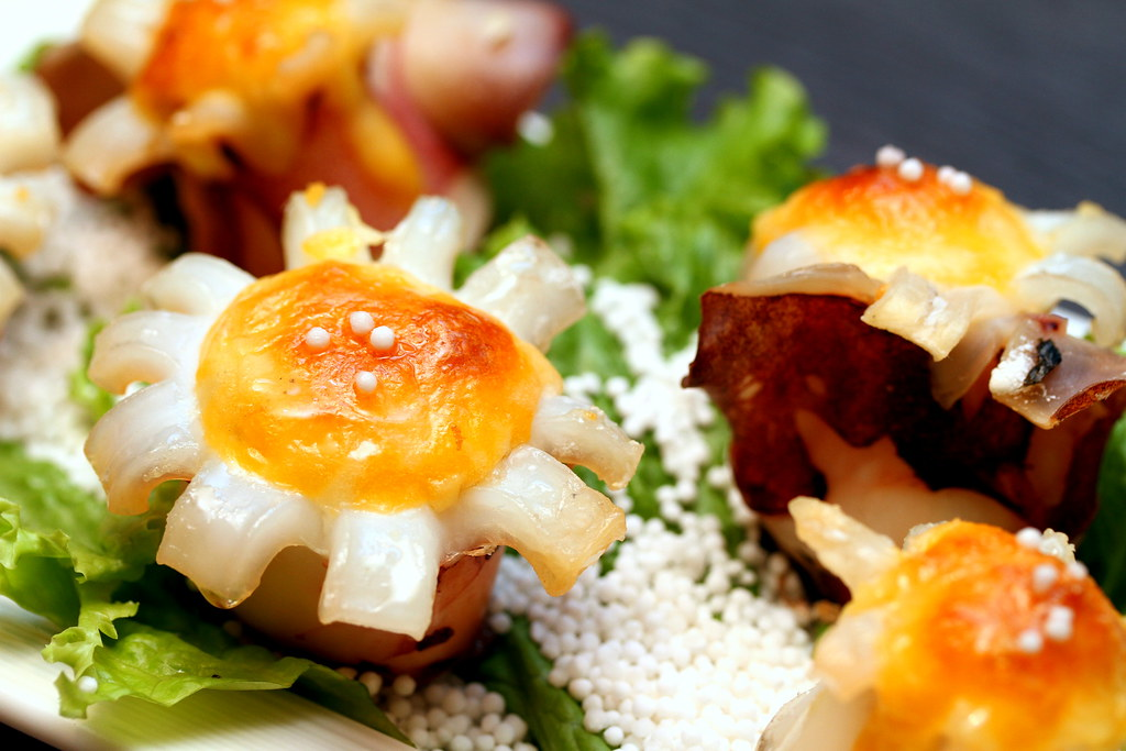 Quan Hotpot: Sliced Cheese Grilled Octopus