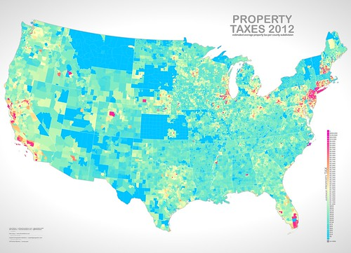 UXBlog IDV Solutions User Experience Map Math The United - Property tax map us