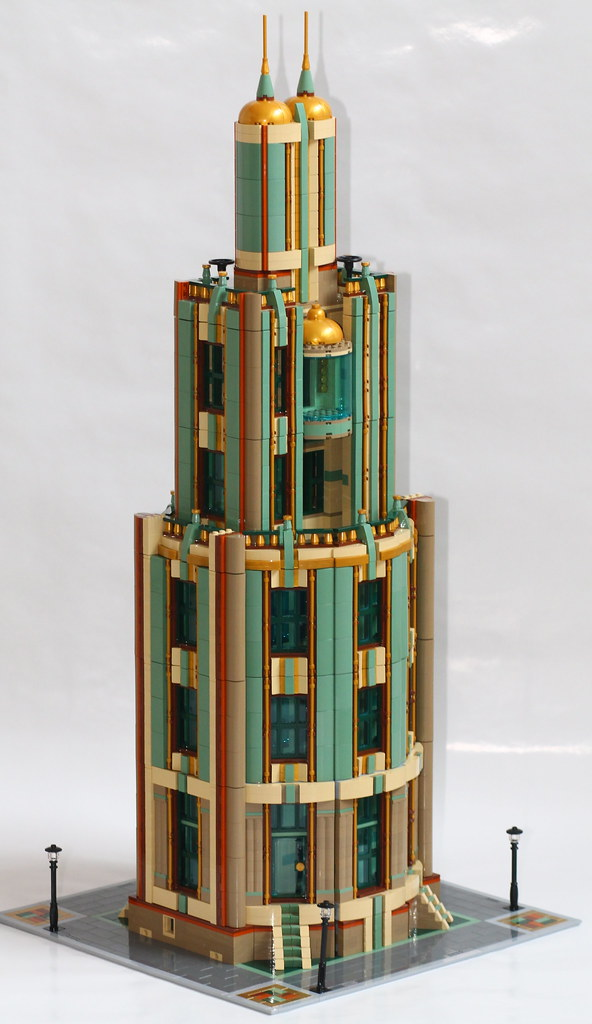 Lego MOC: Tall Tower