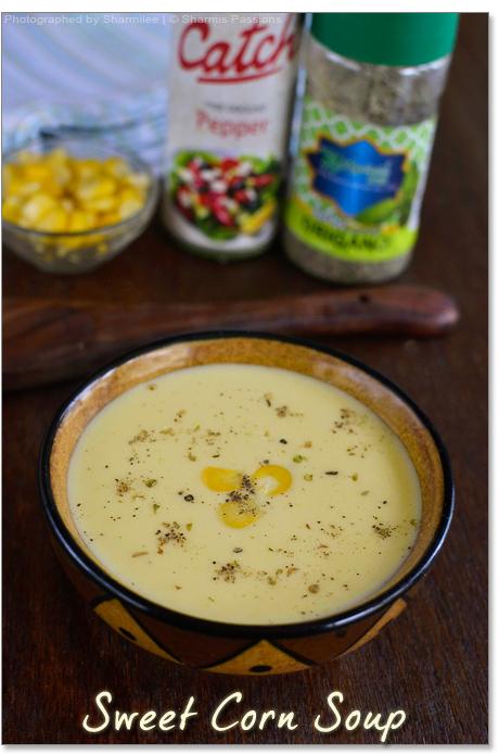 How to make sweet corn soup recipe