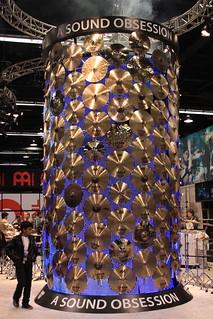 2013 NAMM Show - Sabian Cymbal Tower