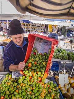 Reggio Calabria, al mercato