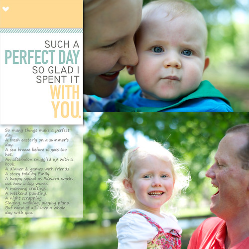 Often our best technical photos don't have much of a story behind them. If you are doing a home photoshoot with the little one, school portraits, or even a family portrait session with a local photographer, they can just be pretty pictures. Here are some layout ideas for scrapping them. #digiscrap #scrapbooking