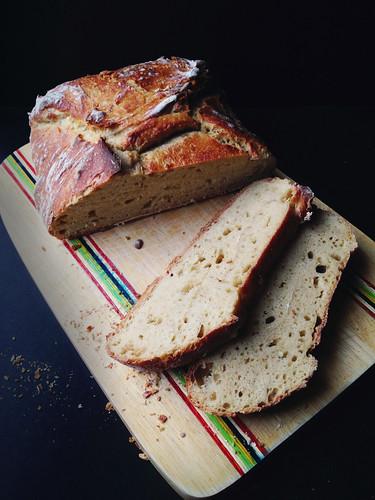 No Knead Einkorn Bread 5