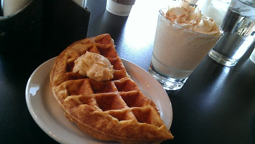 Waffle and shake