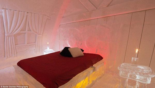 Hotel de hielo en Canadá
