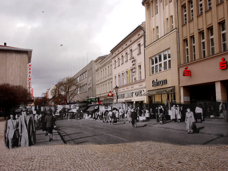 Breitestrasse mit Besuch