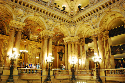 The Grand Staircase viewing area - Palais Garnier