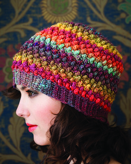 Bobbled Hat by Linda Permann