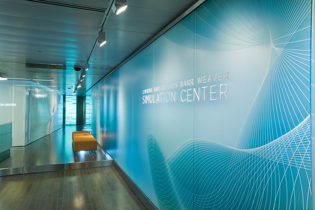 Mayo Clinic J. Wayne and Delores Barr Weaver Simulation Center