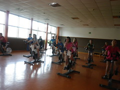 bodypump(0.0), sport venue(0.0), sports(0.0), room(1.0), indoor cycling(1.0), physical fitness(1.0), physical exercise(1.0), gym(1.0),