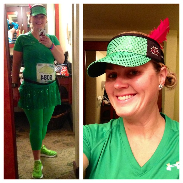 Ready to race The Tinker Bell Half Marathon.