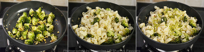 How to make broccoli pasta - Step4