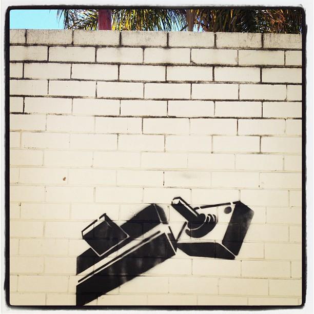 Atari street art