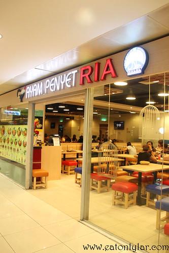 Ayam Penyet Ria, Singapore