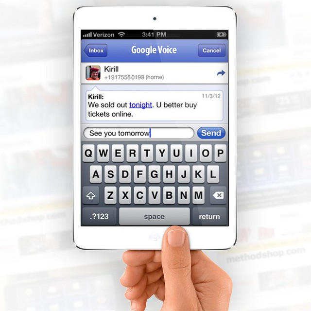 Turn iPad Mini into Phone: Google Voice