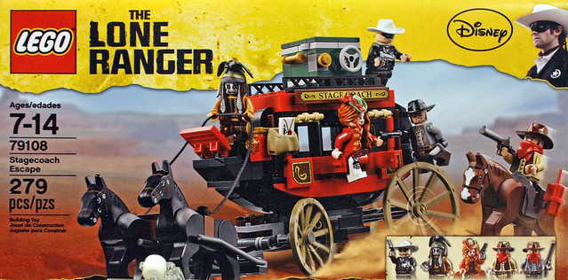 LEGO The Lone Ranger 79108 - Stagecoach Escape