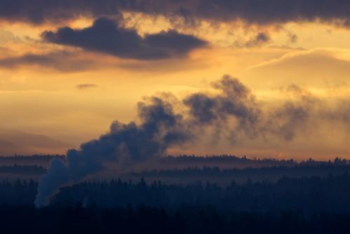 morning sunrise view bedroomwindow