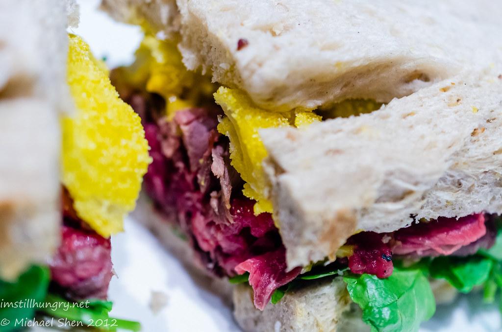 Reuben & Moore kate sandwich