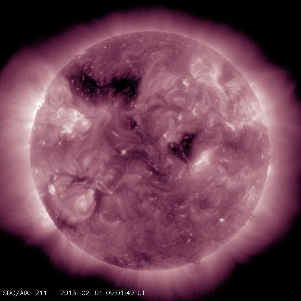 Sun Coronal Hole