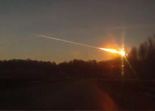 Pioggia di meteoriti in Russia