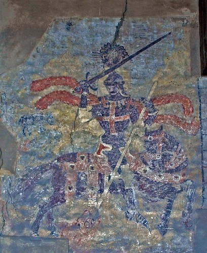 Wallpainting St George (1)