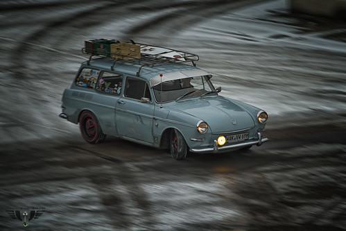 VW Typ 3 Variant im Drift by Wutzman