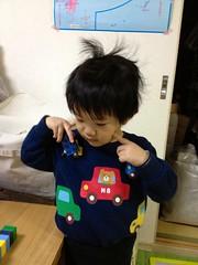 頭爆発とらちゃん 2013/2/15