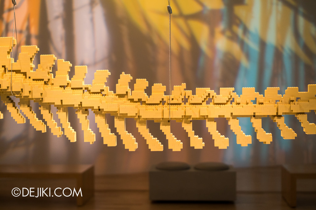 Art of The Brick - Tail detail