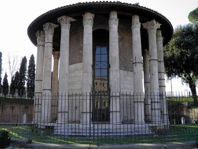 Temple of Hercules Victor, Forum Boarium, Rome