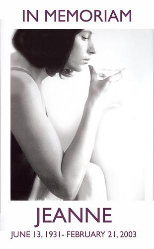 Jeanne MEMORIAM