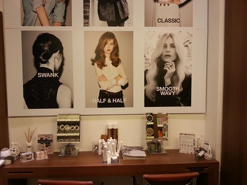 hersheson blow dry bar topshop oxford circus