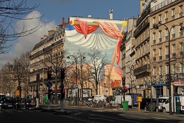 Boulevard du Temple - Paris (France)