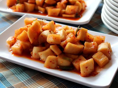 Kkakdugi Kimchi