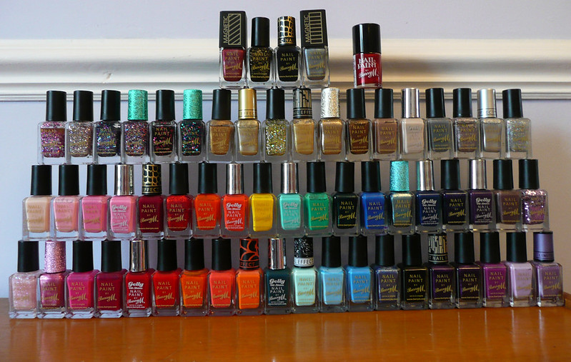 all my barry m nail varnish 240213