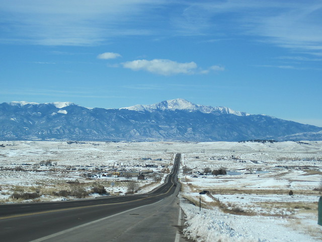 Peak to Peak Highway Highway 94 And Pikes Peak