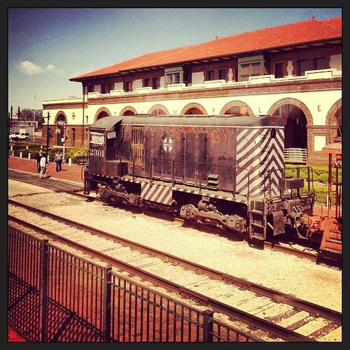 Temple, Texas #trainride