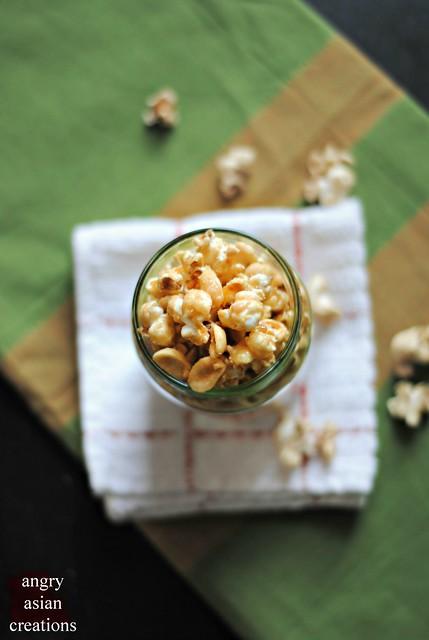 Caramel Popcorn {vegan}