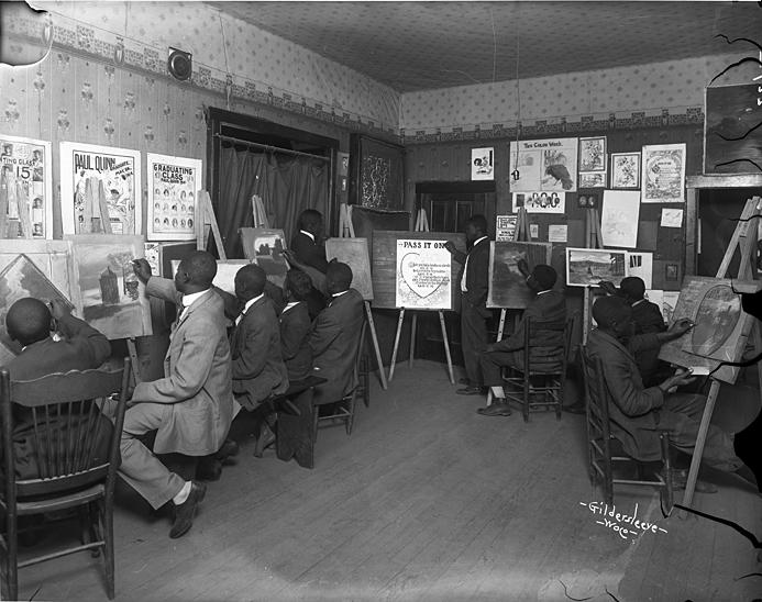 Paul Quinn College art class, circa 1916