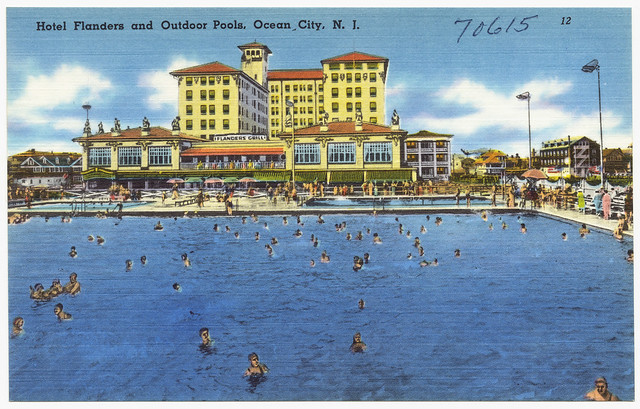 Hotel Flanders And Outdoor Pools Ocean City N J Flickr Photo Sharing