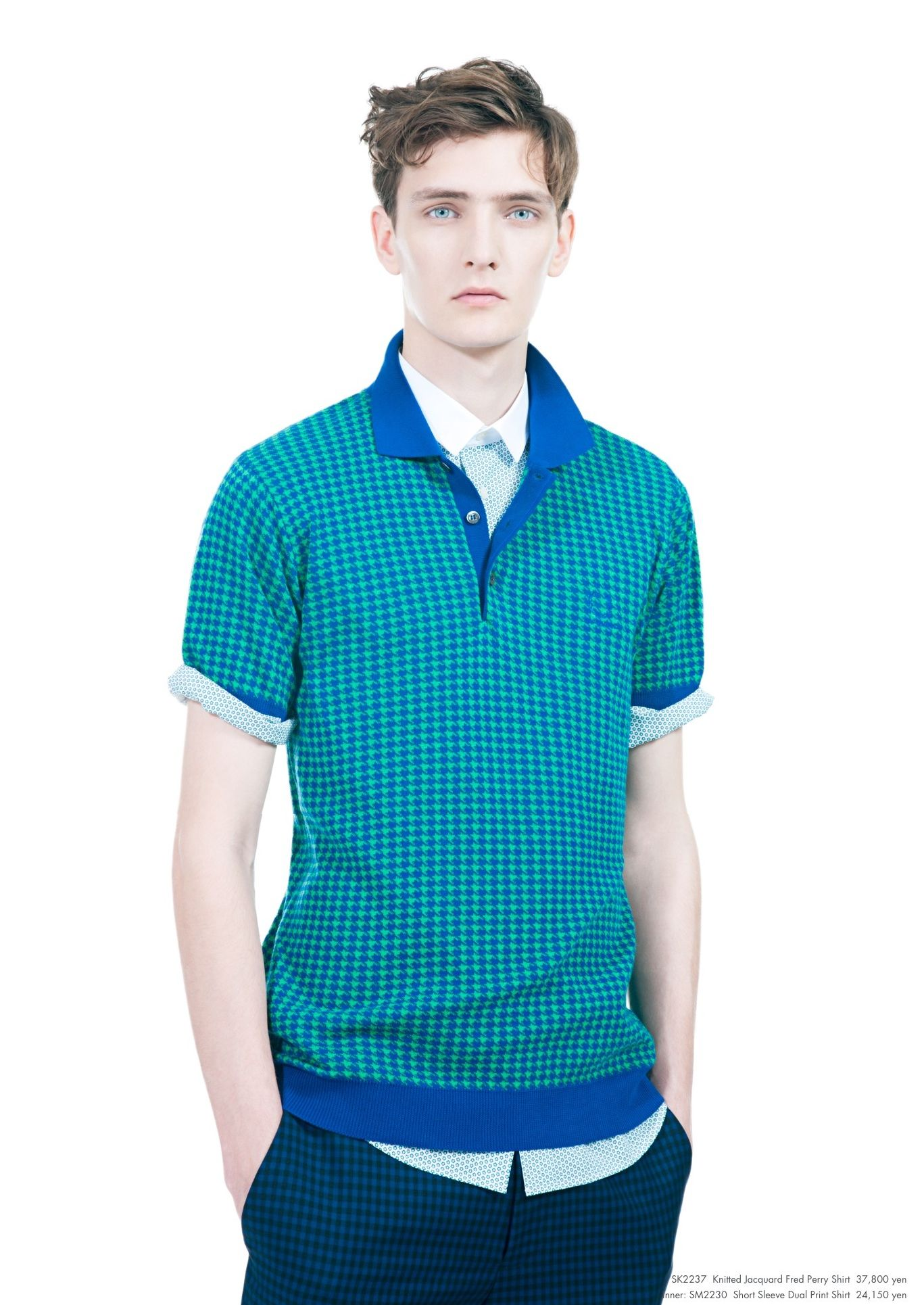 Yannick Abrath0038_Raf Simons × Fred Perry SS13