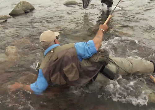 Video pro tips safe wading techniques orvis news for How to become a fishing guide