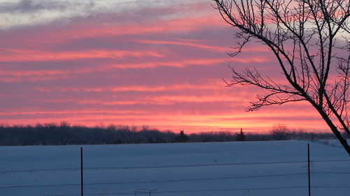 county snow sunrise franklin kansas